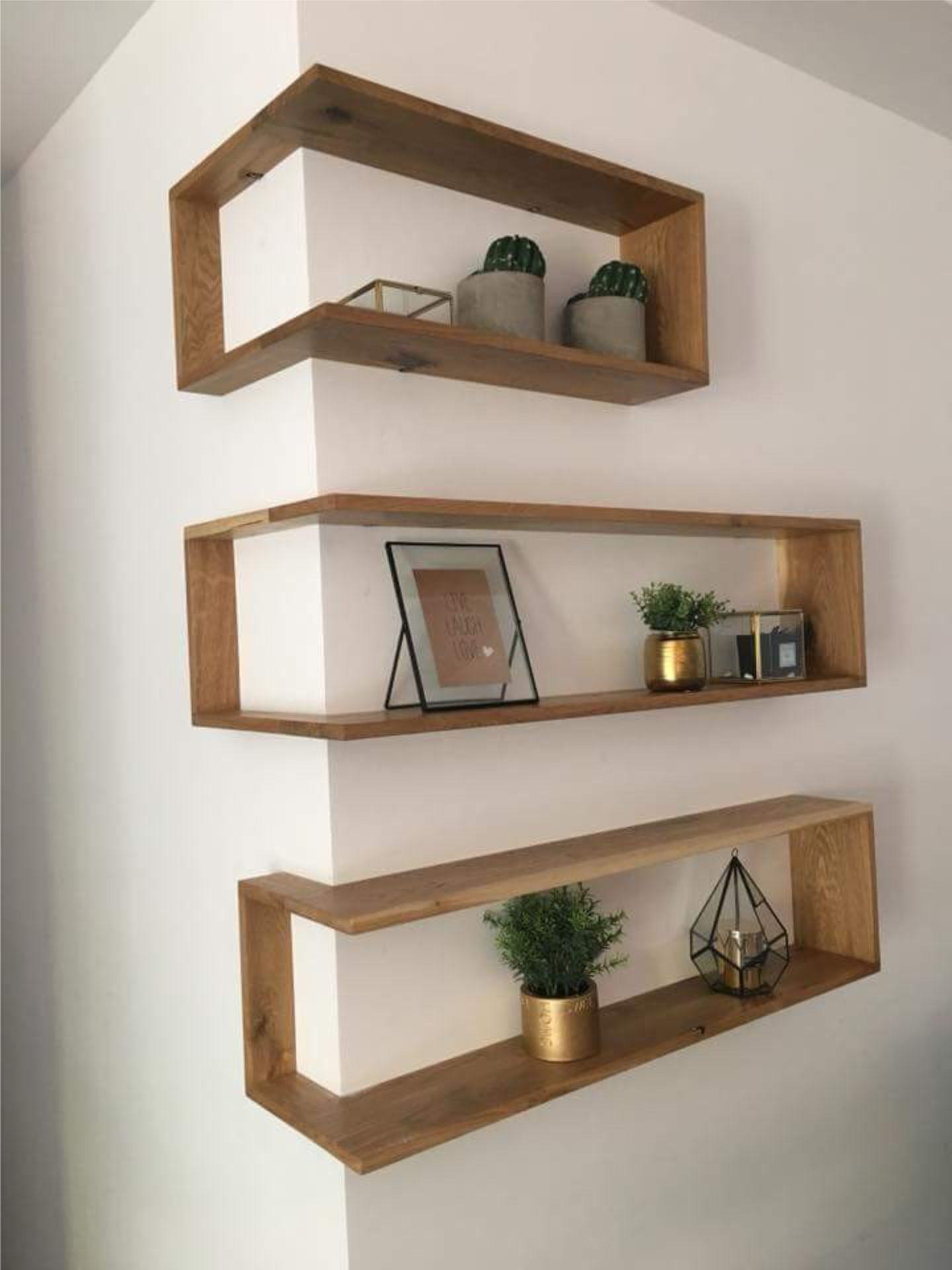 Tips muy pr cticos estantes flotantes en ngulo for Decoracion hogar la plata
