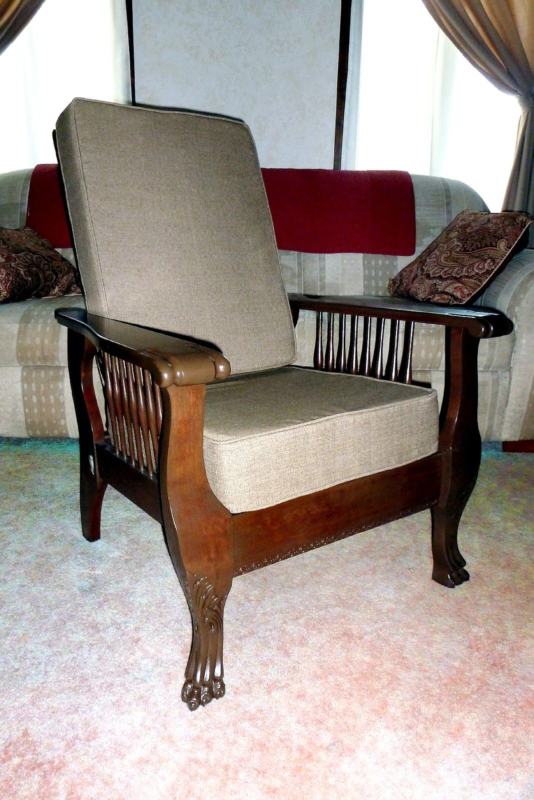 Morris Chairs My Grandma Oliver 39s 1905 Morris Chair Restoration Here Is