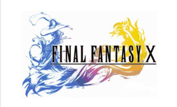 Final Fantasy X Logo Cross Stitch Pattern Etsy Final Fantasy Logo Final Fantasy Final Fantasy X