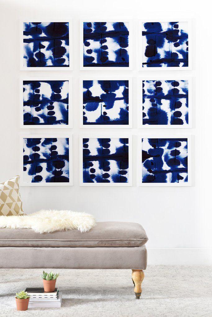 Jacqueline Maldonado Parallel Framed Wall Mural | DENY Designs Home Accessories