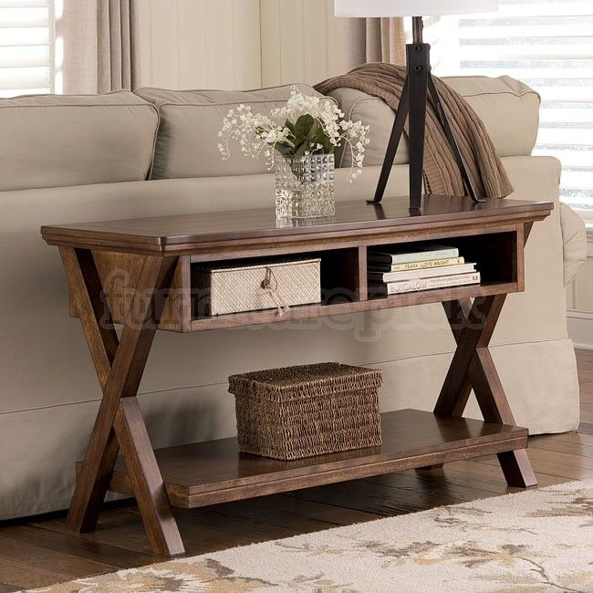 Table Behind Sofa: Burkesville Console Sofa Table