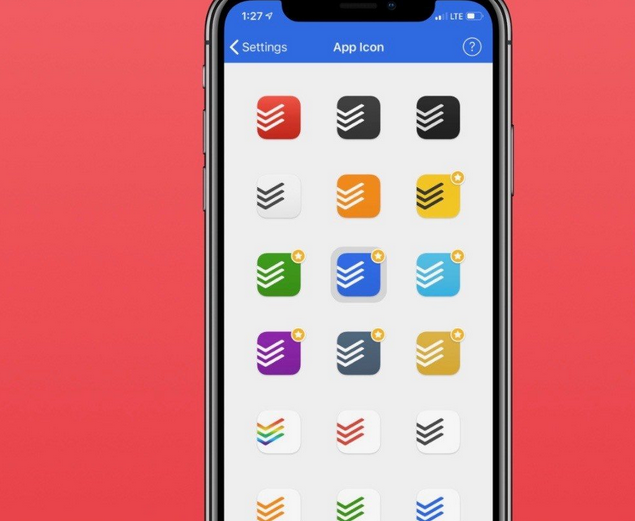 Todoist iOS App Adds Customized Icons & Improved Apple