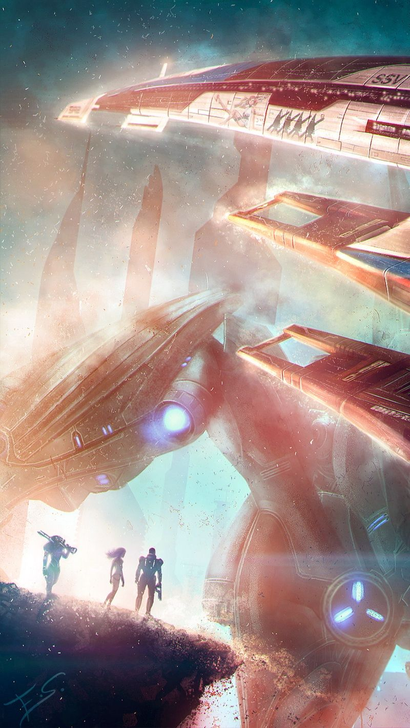 800x1420 Wallpaper Normandy Mass Effect Spaceship Mass Effect Mass Effect Art Mass Effect Ships