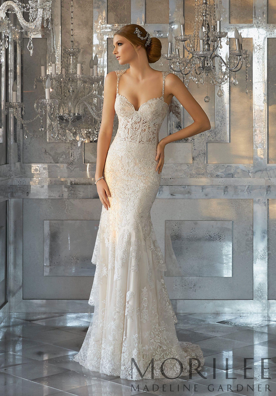 Mori lee madeline gardner wedding dress  Morilee  Madeline Gardner Martella Bridal Gown A Vintage Inspired
