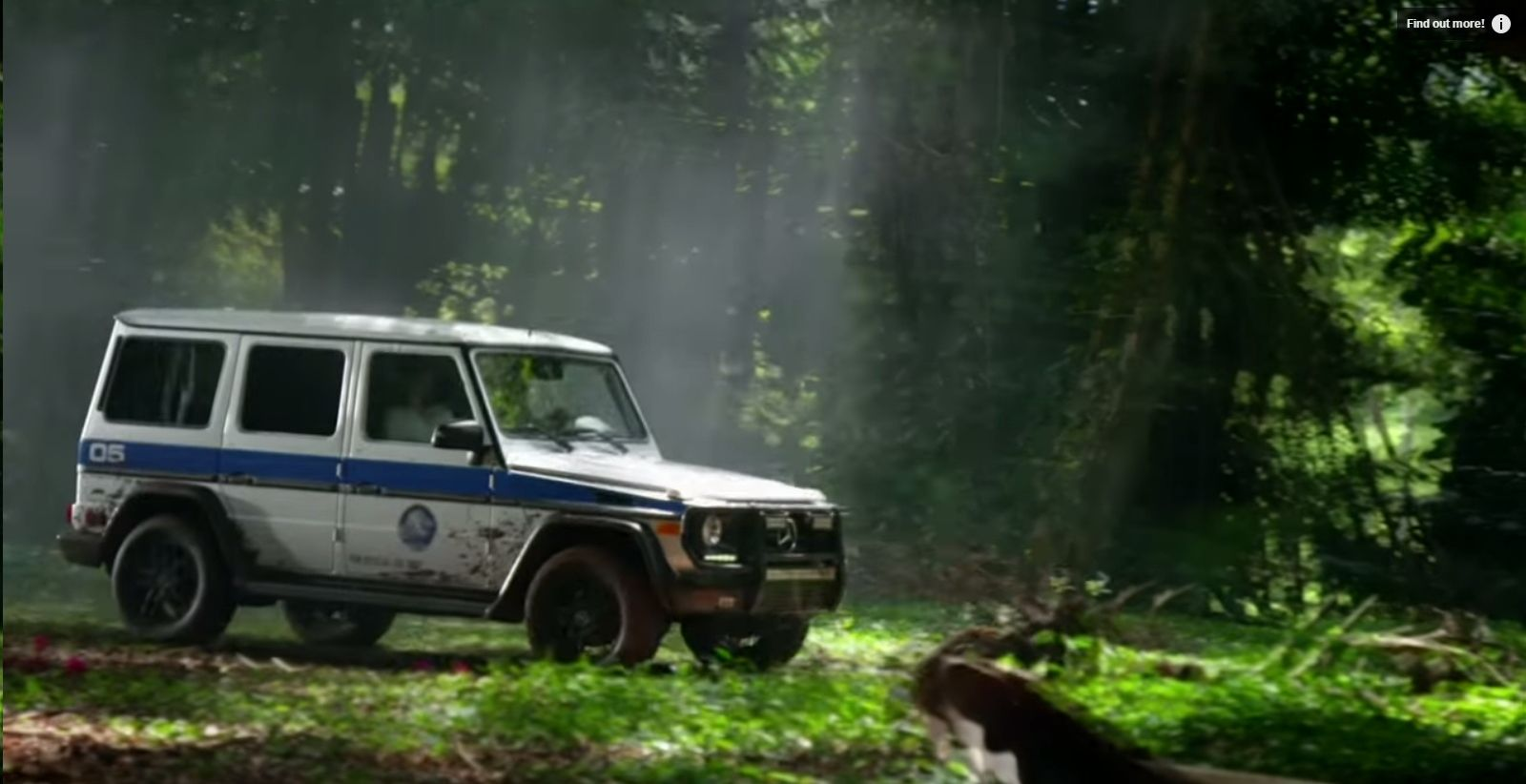 Jurassic World Mercedes G550