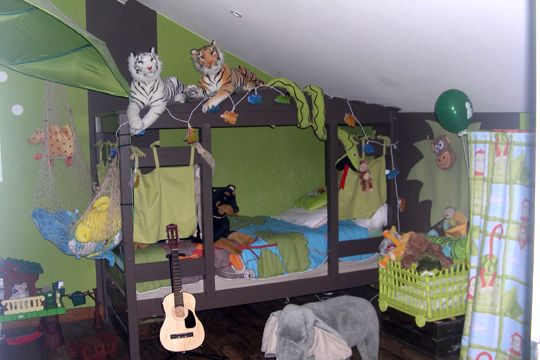 1000 images about chambre jungle on pinterest jungle room bebe and jungles - Chambre Jungle Fly