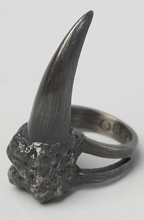 The Eagle Claw Ring In Black By Obey Gothic Jewelry Claw Ring Jewelry Rings