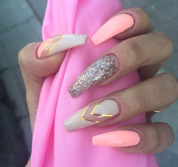 50 Best Nail Art Designs from Instagram | 50th, Instagram and Nail nail