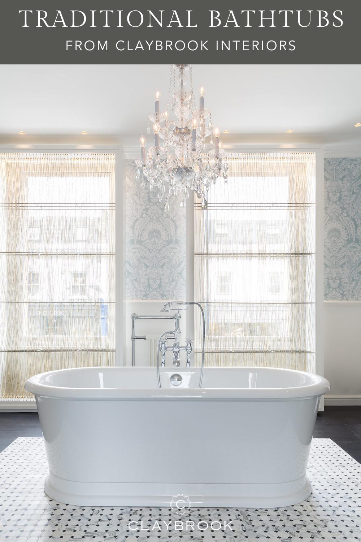 Traditional Bathtubs For Classic Bathroom Design A Luxury Bathtub