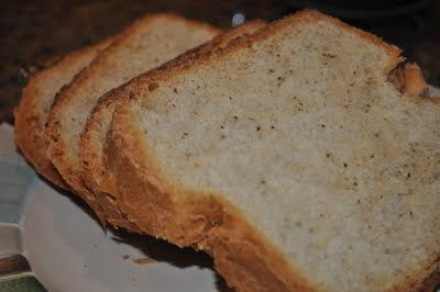Garlic Basil Bread (bread machine) | Basil bread, Bread ...