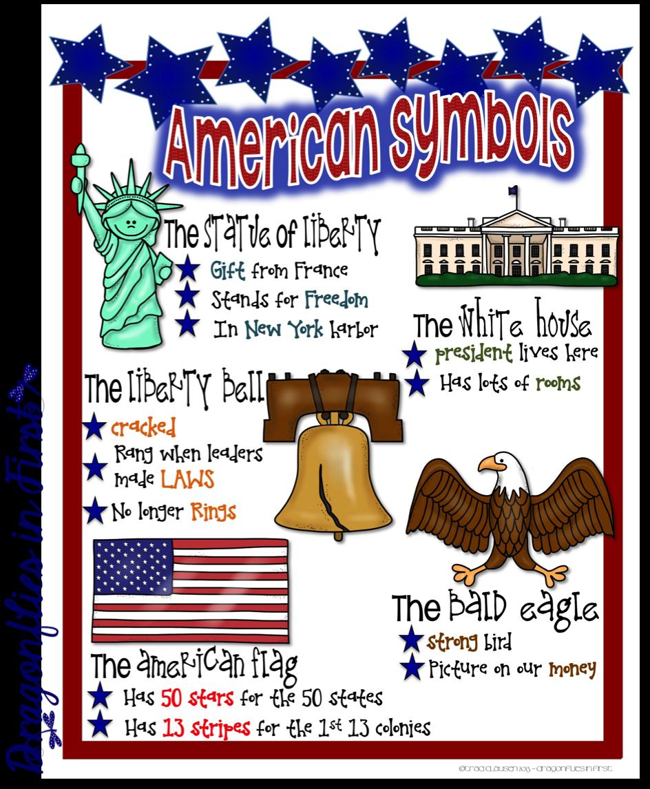 Student Valentine Freebie Presidents And Us Symbols Kinderland