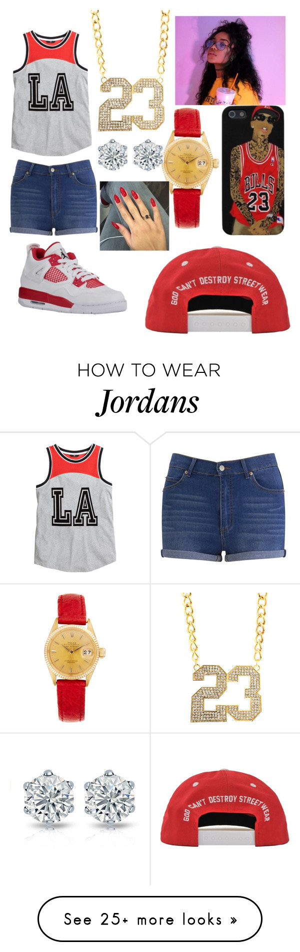 """""""tyga"""" by pleazdonthate on Polyvore featuring Cheap Monday, H&M and Rolex"""