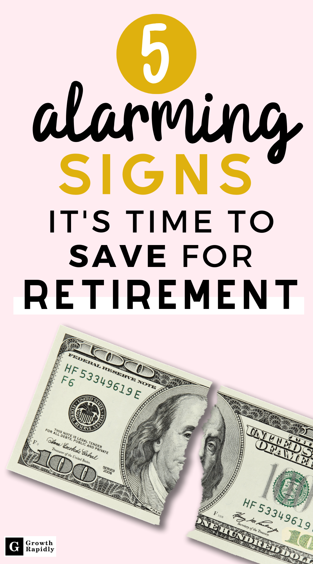 5 Signs It S Time To Save For Retirement Now Growthrapidly Saving For Retirement Personal Finance Finance