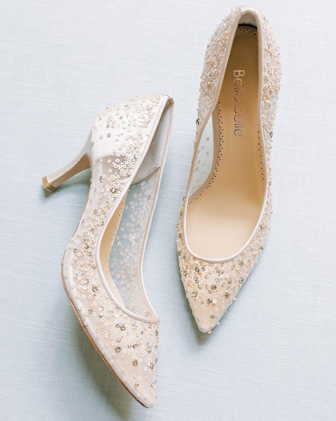 Wedding shoes heels