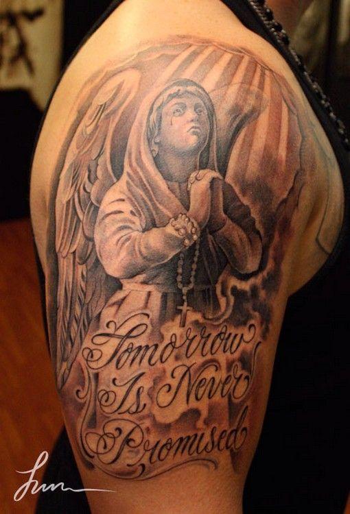 Guardian Angel Tattoos For Men Angel Tattoos Angel Tattoo