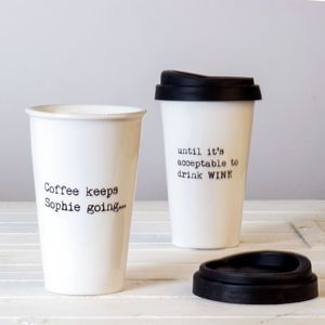 personalised until it s acceptable travel mug mineeeee