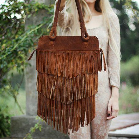 fringe bag #boho #music_festival #purse #concert