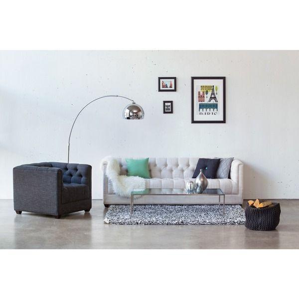 Wohnzimmer-Set Jacata Wohnzimmer in Grau  Weiß Pinterest - Wohnzimmer In Weis Und Braun