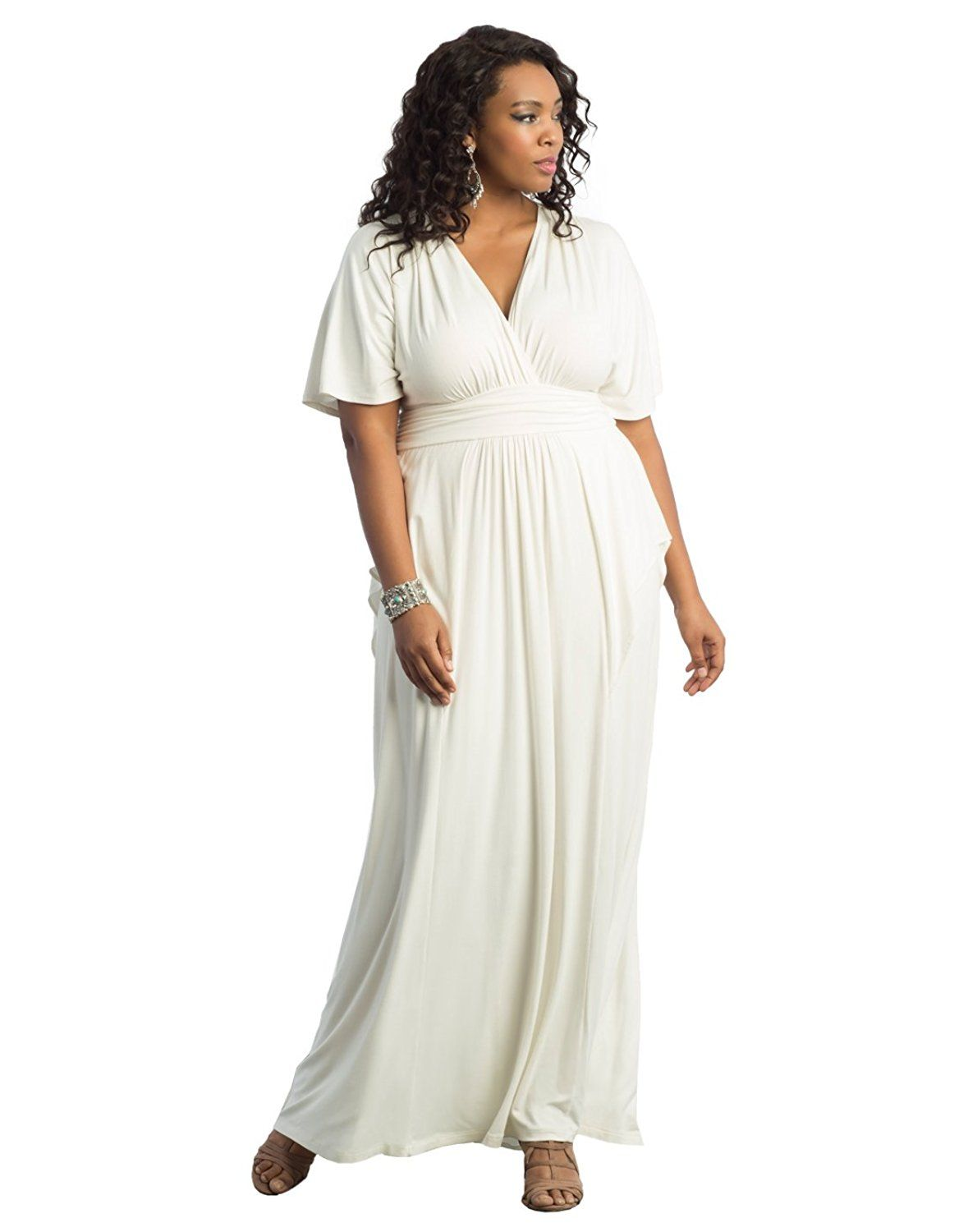 Kiyonna wedding dress  Kiyonna Womenus Plus Size Indie Flair Maxi Dress  Want additional