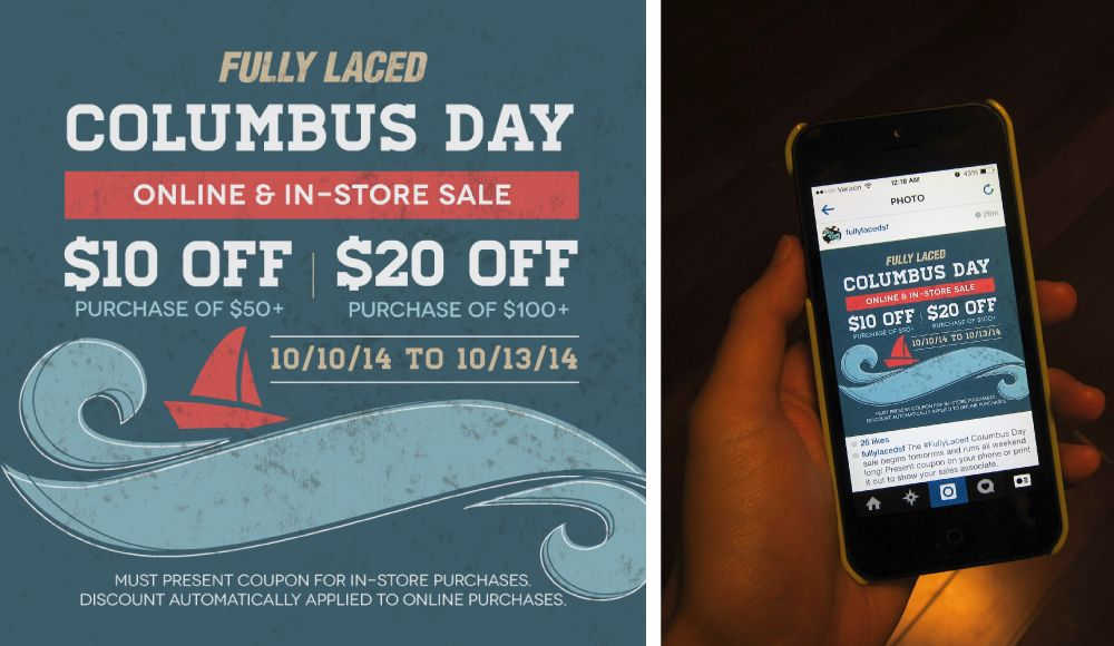 Another Sale Is Around The Corner And This Time It Is For Columbus Day Which Columbus Day Sale Sale Columbus Day