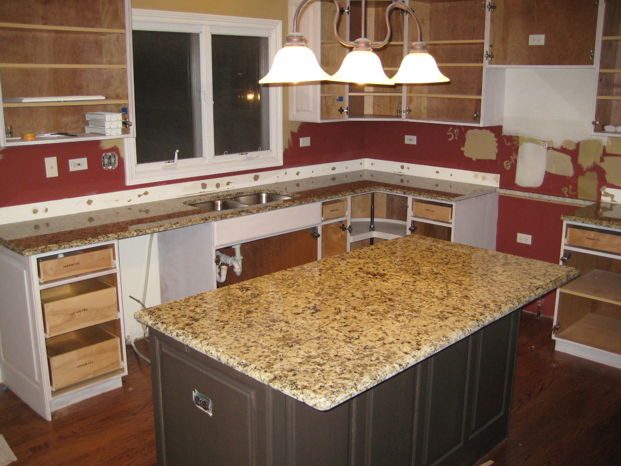 Granite Color Giallo Napoli 36 00 Per Sf Installed
