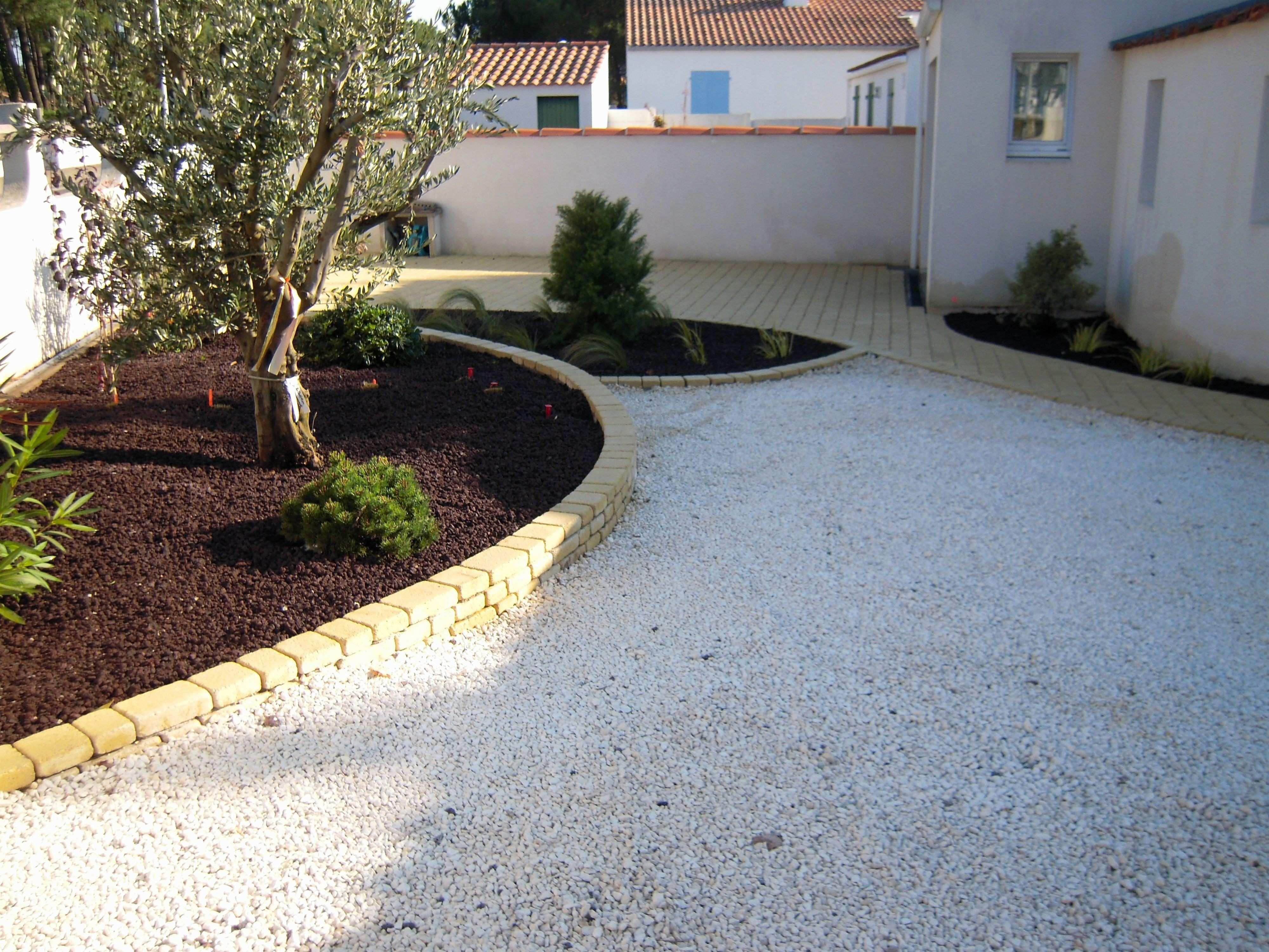 Amenagement Exterieur En Cailloux cailloux blanc jardin inspirational allee de jardin en
