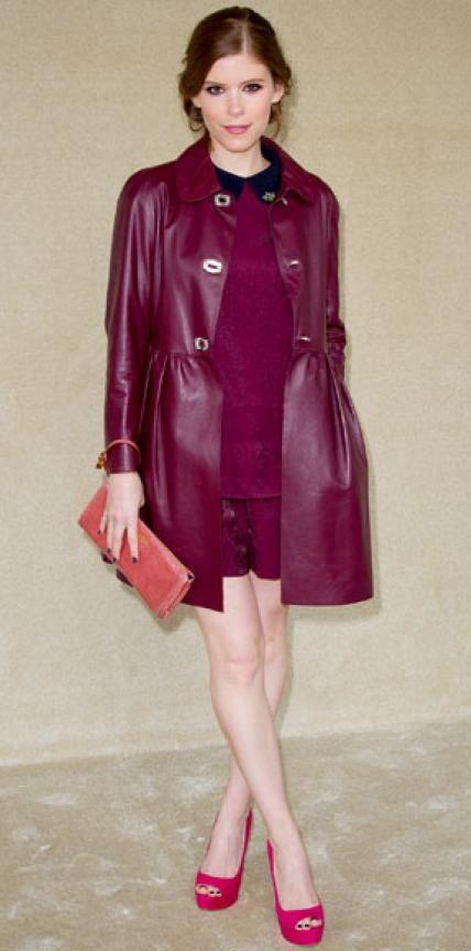 MARCH 10, 2012 Kate Mara WHAT SHE WORE Mara chose head-to-toe Miu Miu for the label's Paris show.