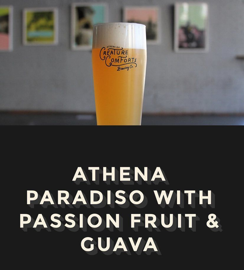 Just tapped. Paradisio