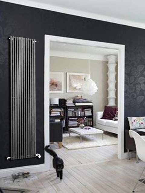 CARLOS DESIGN RADIATORS - Vertical Radiators Interiors Pinterest