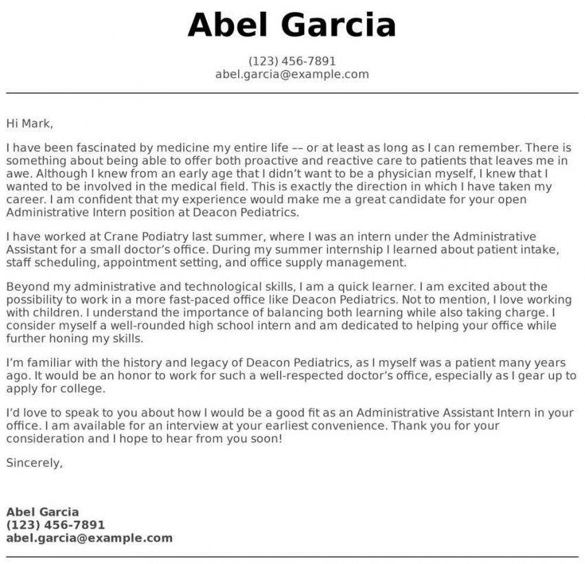 browse our image of high school student cover letter