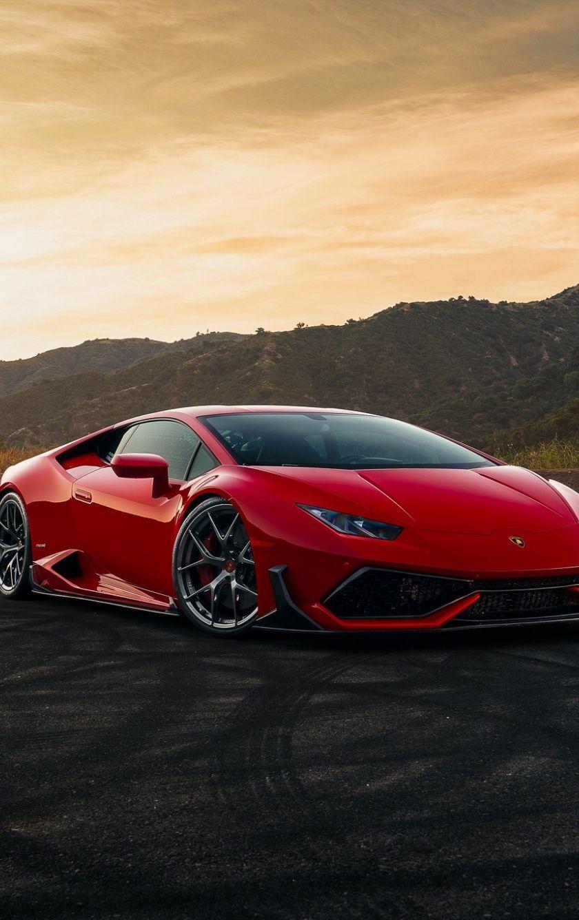 840x1336 Lamborghini Huracan Red Sportcar Wallpaper Red Lamborghini Lamborghini Huracan Lamborghini Cars