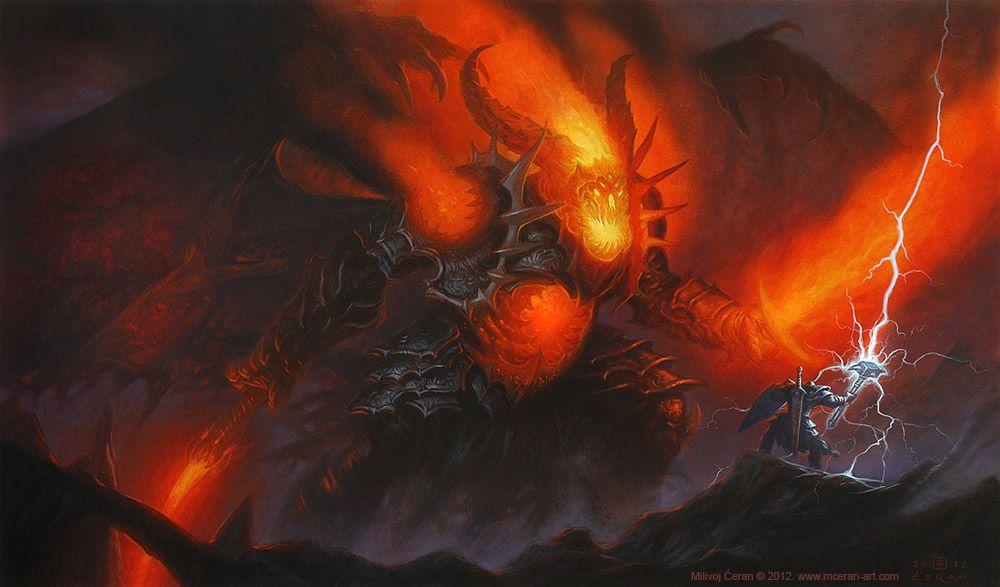 Milivoj Ćeran - fantasy art - Galleries - Category: Other illustrations