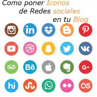 Área de Rebe: Como poner iconos de redes sociales en blogger #tutorial blogger #icono #redessociales