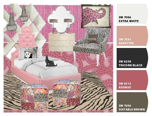 Interior Design Package Girls Room Personalized Mood Board PDF E