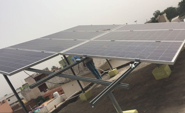 Our Company Is Offering Excellent Quality Solar Mounting Structure To Our Customers We Are Manufacture Solar Panel Module St Solar Structures Roof Solar Panel