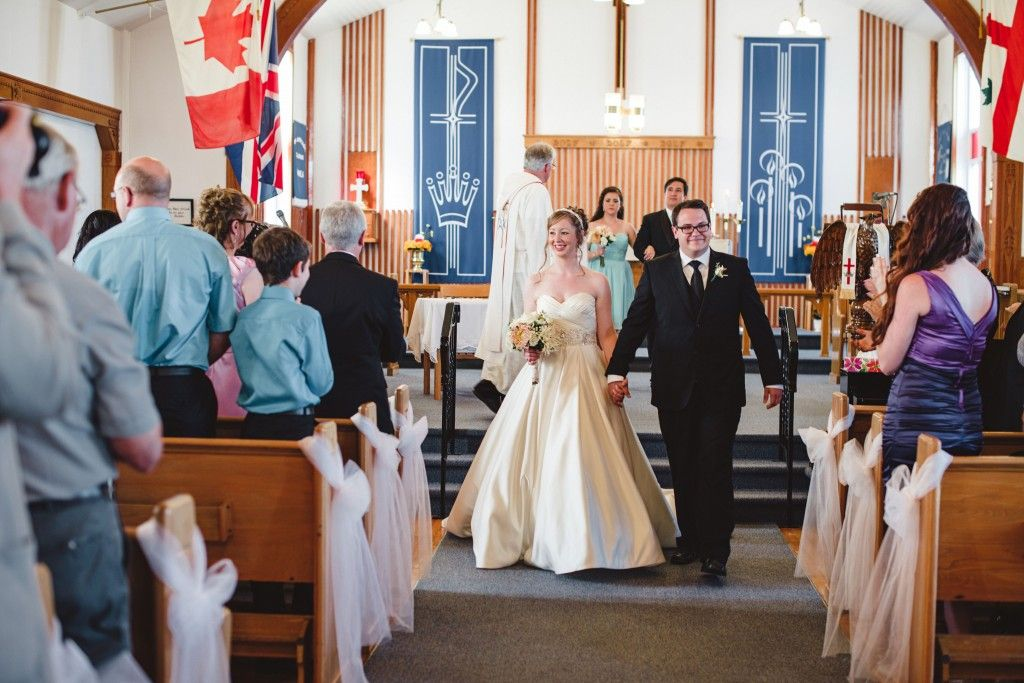 Classic Wedding Fit For A Princess In Ramea Newfoundland