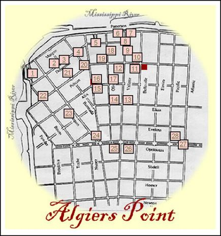 Algiers Point Tours 2nd oldest neighborhood in New Orleans New