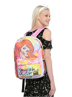 698d047c97c1af Loungefly Disney The Little Mermaid Ariel Tie Dye Backpack