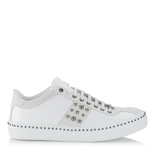 Pre-owned - Leather low trainers Jimmy Choo London UGMphe