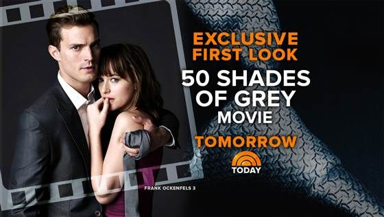 Tune in! See 'Fifty Shades of Grey' trailer exclusively on TODAY Thursday