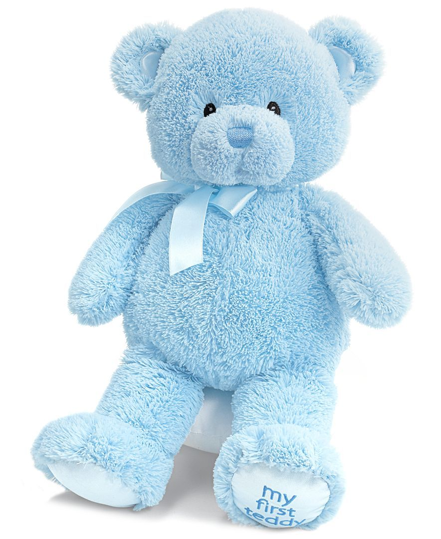 Kids toys images  Gund Kids Toys Baby Boy My First Teddy Bear  Products  Pinterest