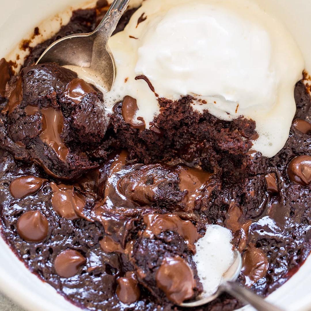 One-Minute Microwave Brownie 😍🍫