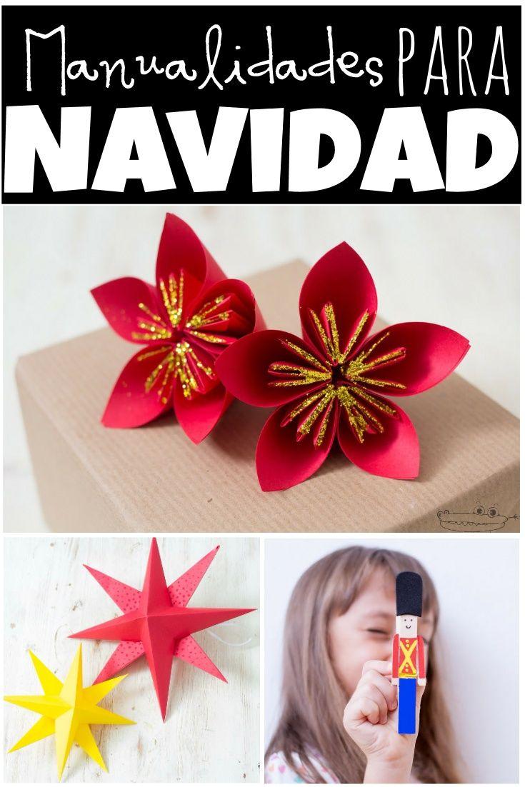 15 manualidades de navidad para ni os de preescolar for Manualidades para ninos de navidad faciles