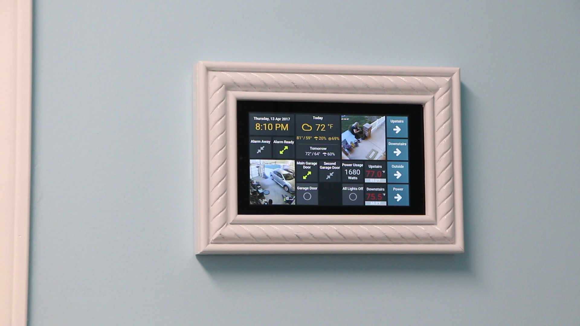 Wall Mounted Amazon Fire 7 Tablet For Home Automation Handmade Crafts Howto Diy Homeautomationideas Tablet Wall Mount Wall Tablet Home Automation