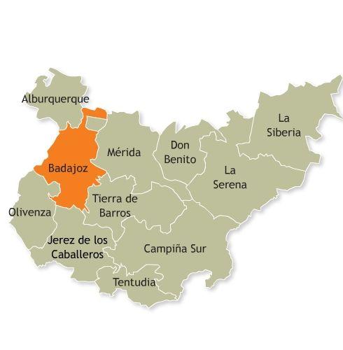 Mapa De Extremadura Fisico Y Politico Mapa Nom Es