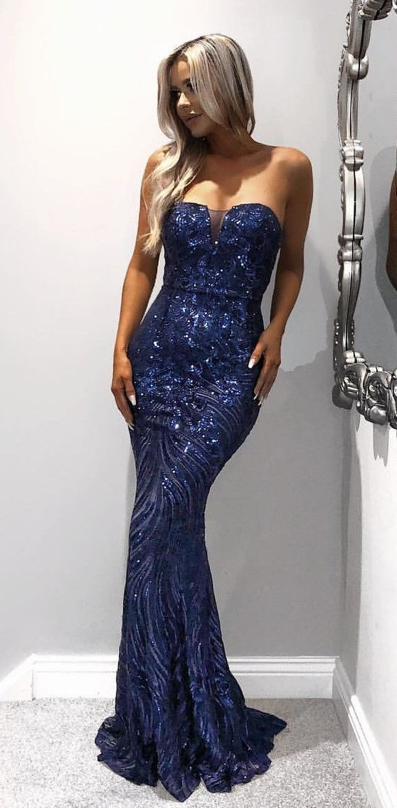 Gala En Feestjurken.100 Ultimate Winter Outfits To Inspire Yourself Midnight Blue