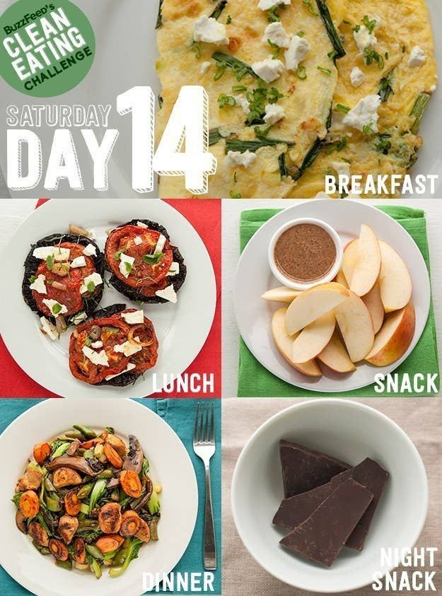 Take BuzzFeed's Clean Eating Challenge, Feel Like A Champion At Life -   15 diet Clean Eating buzzfeed ideas