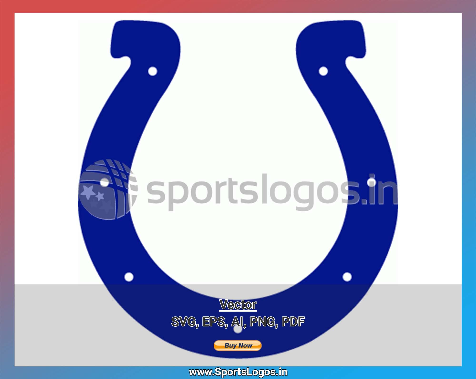 Indianapolis Colts Football Sports Vector Svg Logo In 5 Formats Spln001989 Sports Logos Embroidery Vector For Nfl Nba Nhl Mlb Milb And More Indianapolis Colts Football Colts Football National Football League