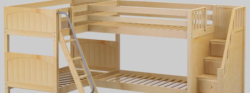 Combine Two Or More Beds Corner Lofts Triple Quad Bunks Bunk