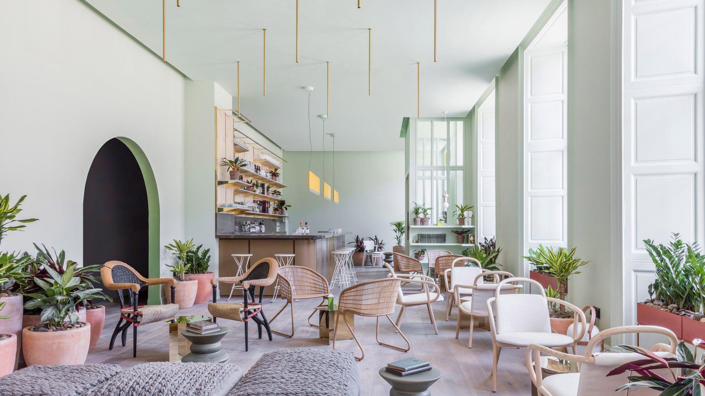 Grzywinski pons creates sophisticatedly tropical for Design hotel eden